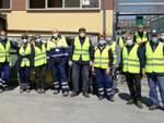 Protezione Civile Beinette pulizia strade
