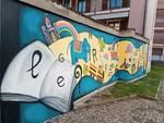 murale biblioteca chiusa pesio