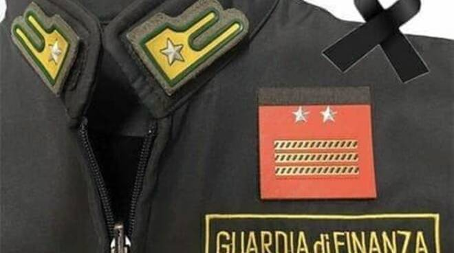 lutto guardia di finanza