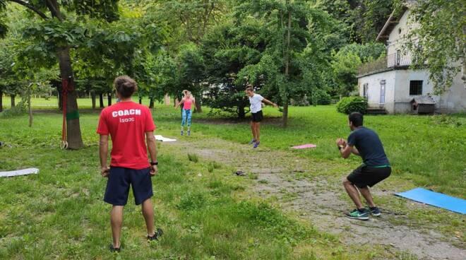 Allenamento Laces al parco, con lezione di prova gratuita su prenotazione