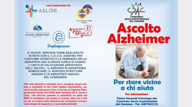 Progetto Ascolto Alzheimer 1
