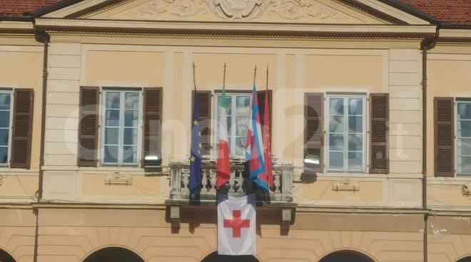 Peveragno municipio croce rossa