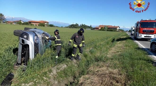 incidente stradale savigliano