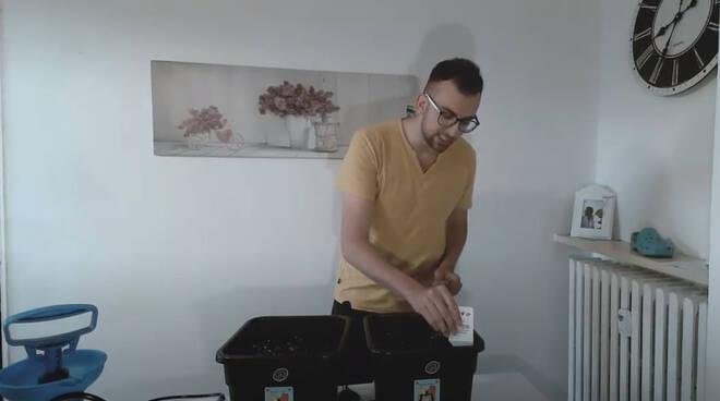 Filippo Blengino pianta cannabis in casa