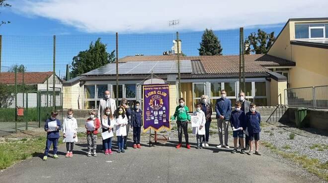 lions club scarnafigi defibrillatore dono scuola elementare monasterolo