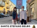 Santo Stefano Belbo parcheggio rosa