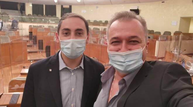 Fabrizio Ricca e Paolo Bongioanni