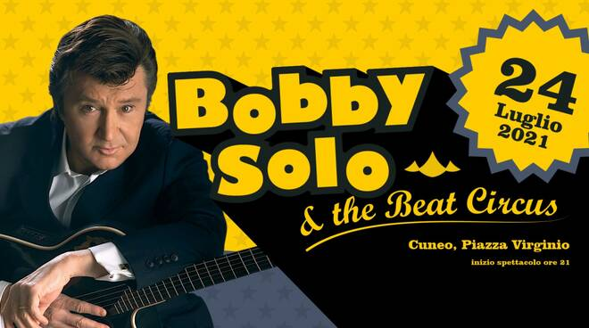 Bobby Solo a Cuneo