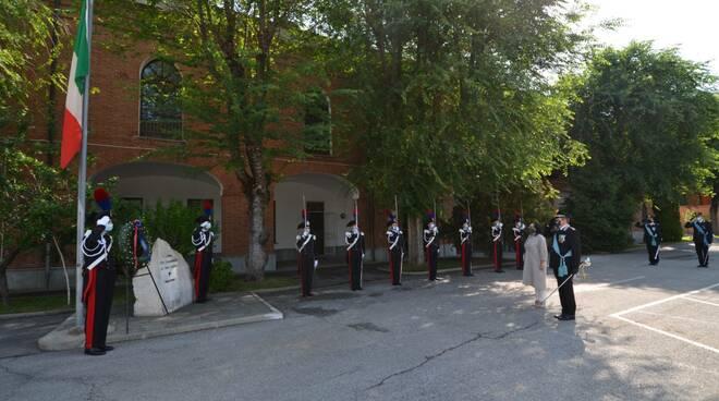 207 anniversario carabinieri cuneo