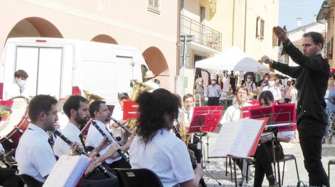 concerto banda musicale peveragno sagra fragola