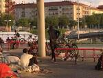 Movicentro migranti foto Boselli