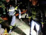 vigili fuoco mombasiglio uomo esce da casa di riposo