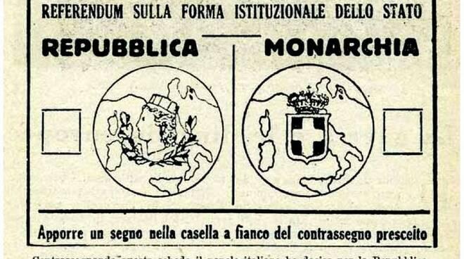 scheda elettorale 1946