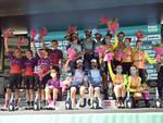 podio tappa Cuneo giro d'italia donne 2021