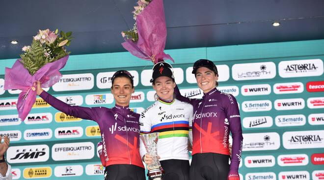 Anna Van Der Breggen Giro D'Italia Donne 2021 Prato Nevoso