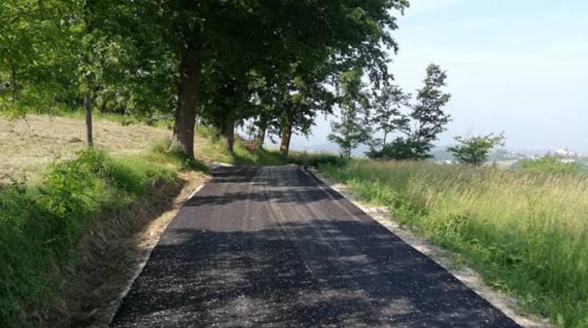 Rocca Cigliè asfaltature