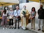 Monsignor Bodo inaugurazione cappella CARITAS