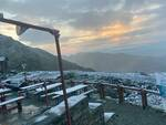 neve estiva sul Monviso