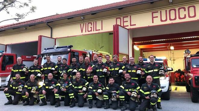 vigili del fuoco volontari cuneo