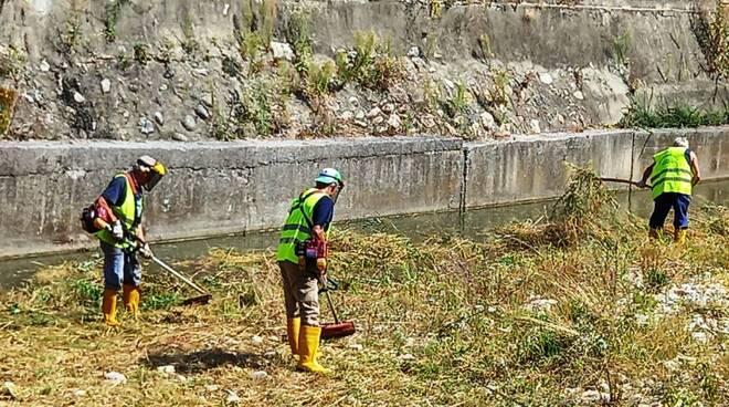 Protezione Civile Beinette puilizia Josina