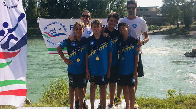 Granda canoa club Adige