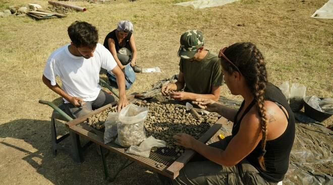 scavi archeologici Costigliole Saluzzo