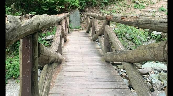 ponte superiore del saut