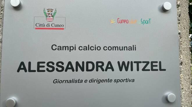 targa centro alessandra Witzel