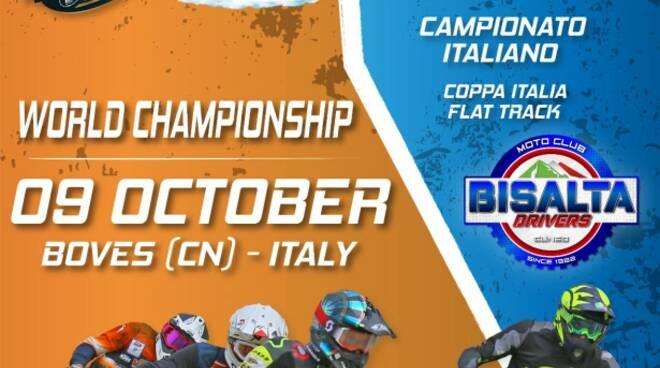 boves campionato italiano e mondiale flat track