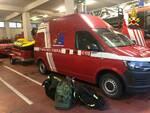 Vigili del Fuoco Cuneo partenza per Ovada