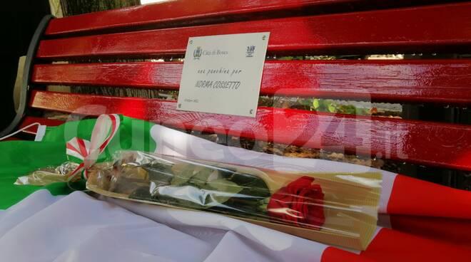 inaugurazione panchina Norma Cossetto Boves
