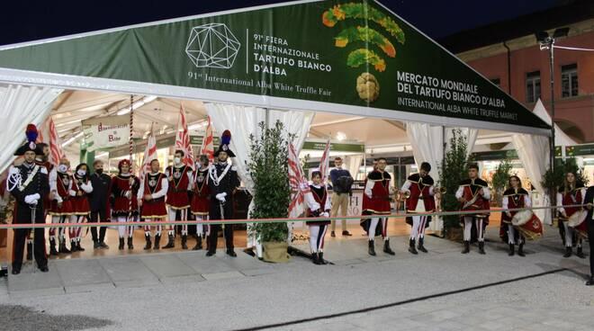 inaugurazione Fiera del Tartufo 2021 Alba