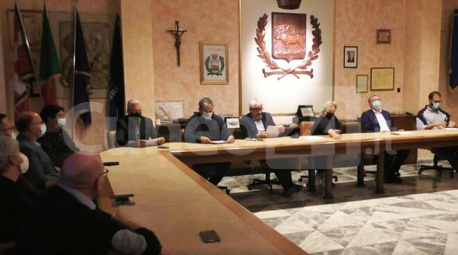Unione Montana Alpi del Mare consiglio 30 settembre 2021