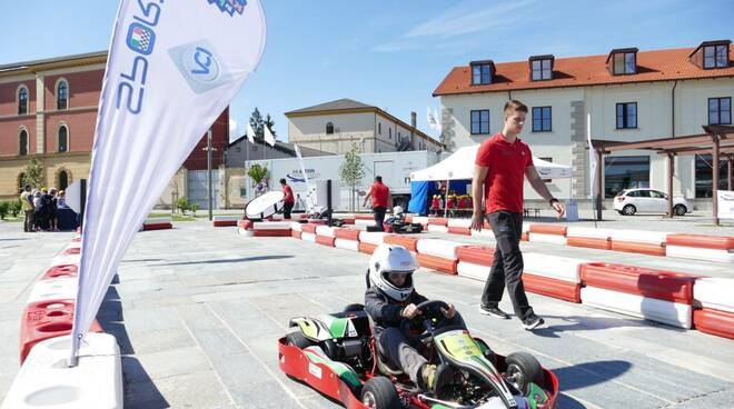 karting in piazza